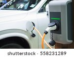 Charging An Electric Car With...