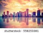 beautiful colorful city of... | Shutterstock . vector #558253381