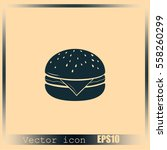 hamburger icon | Shutterstock .eps vector #558260299