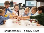 education  children  technology ... | Shutterstock . vector #558274225