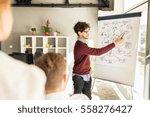 business  startup  presentation ... | Shutterstock . vector #558276427