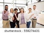 business  triumph  gesture ... | Shutterstock . vector #558276631