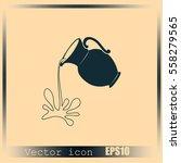 milk jug or pitcher logo | Shutterstock .eps vector #558279565