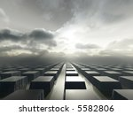 a surreal landscapes with... | Shutterstock . vector #5582806