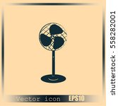 fan vector icon