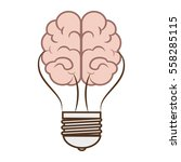 brain storming isolated icon | Shutterstock .eps vector #558285115
