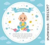 It's A Boy Shower Card....