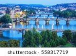 Image Of Prague Bridges Over...