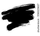 paint banner. brush stroke.... | Shutterstock .eps vector #558325837