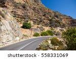 chapman's peak drive. cape town ... | Shutterstock . vector #558331069