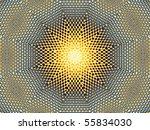 Net Sun Illusion Abstract