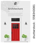 elements of architecture  ... | Shutterstock .eps vector #558343081