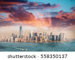Panoramic View Lower Manhattan From - Fine Art prints