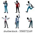vector illustration of a six... | Shutterstock .eps vector #558372169