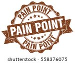 pain point. stamp. sticker.... | Shutterstock .eps vector #558376075