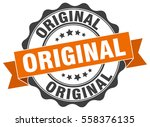 original. stamp. sticker. seal. ... | Shutterstock .eps vector #558376135
