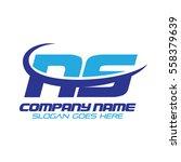ns logo | Shutterstock .eps vector #558379639