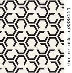 vector seamless pattern. modern ... | Shutterstock .eps vector #558383551