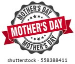 mother's day. stamp. sticker.... | Shutterstock .eps vector #558388411