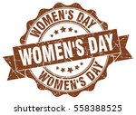 women's day. stamp. sticker.... | Shutterstock .eps vector #558388525