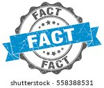 fact. stamp. sticker. seal.... | Shutterstock .eps vector #558388531