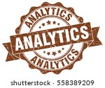 analytics. stamp. sticker. seal.... | Shutterstock .eps vector #558389209