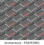romantic seamless pattern ... | Shutterstock .eps vector #558392881