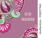 abstract vector background with ...   Shutterstock .eps vector #558397564