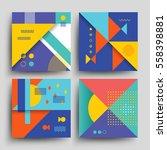 minimal 2d design  model vector ... | Shutterstock .eps vector #558398881