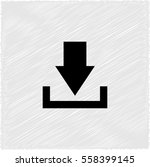 download    black vector icon | Shutterstock .eps vector #558399145