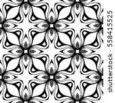 christian geometric pattern... | Shutterstock .eps vector #558415525