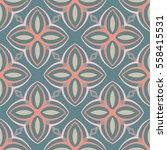 christian geometric pattern... | Shutterstock .eps vector #558415531