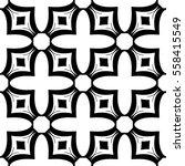 christian geometric pattern... | Shutterstock .eps vector #558415549