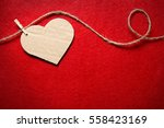 valentines day. hearts from...   Shutterstock . vector #558423169