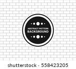 seamless pattern brick vector... | Shutterstock .eps vector #558423205