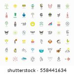 set of signs and symbols  ...   Shutterstock .eps vector #558441634