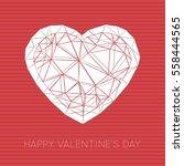 minimal greeting card for...   Shutterstock .eps vector #558444565