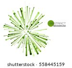 vector abstract explosion lines.... | Shutterstock .eps vector #558445159