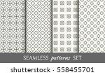 seamless geometric line... | Shutterstock .eps vector #558455701