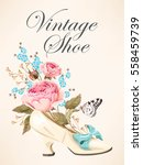vector illustration of vintage... | Shutterstock .eps vector #558459739