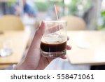 on the rock espresso coffee....   Shutterstock . vector #558471061