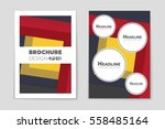abstract vector layout...   Shutterstock .eps vector #558485164