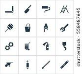 set of 16 editable instrument...
