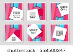 abstract vector layout... | Shutterstock .eps vector #558500347