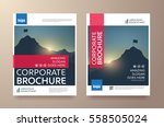 poster flyer pamphlet brochure... | Shutterstock .eps vector #558505024