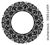 mandalas for coloring book.... | Shutterstock .eps vector #558511459