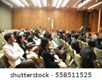 blurred image of education... | Shutterstock . vector #558511525