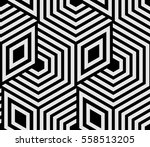 abstract geometric pattern with ... | Shutterstock .eps vector #558513205