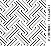 the geometric pattern with... | Shutterstock .eps vector #558513535
