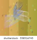 b alphabet texture icon   Shutterstock .eps vector #558516745